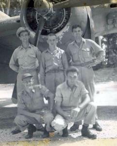 Fincham, Seehorn & Gray Tolhurst & Russell. Stirling Island, April 1944.