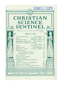 Christian Science Sentinel April 1944
