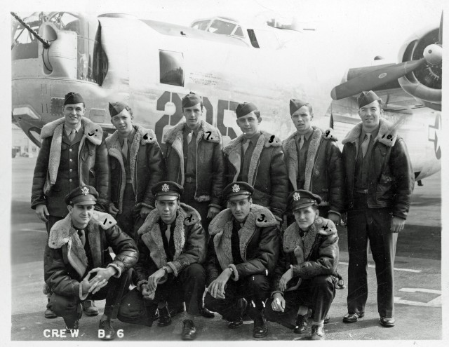 Front:  K.E. Cline; A.W. Garrett; M.L. Greenblatt & E.A. Mercer. Rear: D.A. Miller; C.E. Cobb; W.E. Leahy; E.L. Lehr; R. Grulet; & W.H. Larmee.
