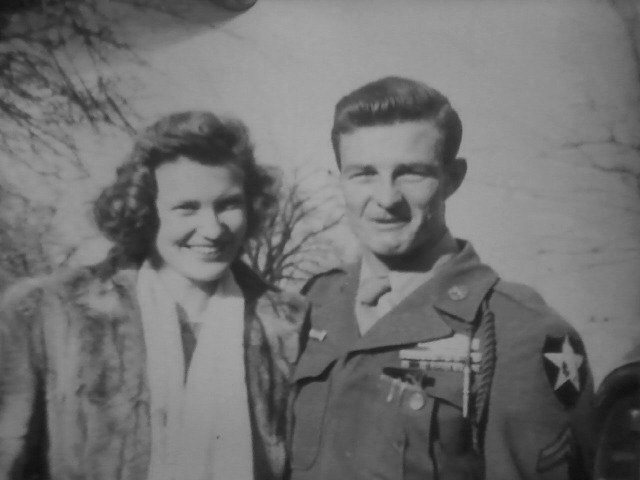 Bonnie Gray & Harry Nordman Gray -- 1945